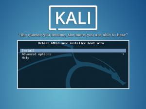 Install Kali